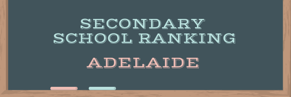 Adelaide Secondary School Ranking